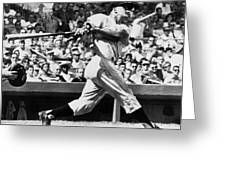 Roger Maris Hits 52nd Home Run Greeting Card