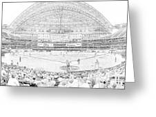 Rogers Centre Line Greeting Card