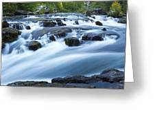 Rogue River Falls 9 Greeting Card