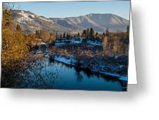 Rogue River Winter Greeting Card