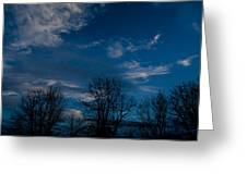 Rogue Valley Winter Eve Greeting Card