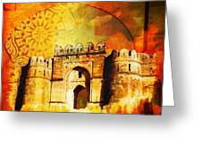 Rohtas Fort 00 Greeting Card
