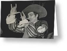 "Roland Petit, Makes ""cyrano De Bergerac"" Into A Ballet Greeting Card"