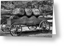 Roll Out The Barrels Greeting Card