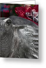 Roll Tide  Greeting Card by Kathy Clark