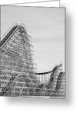Roller Coaster Wildwood Greeting Card