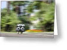 Rollerblade Greeting Card