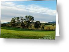 Rolling Hills Near Marriot Ranch Greeting Card