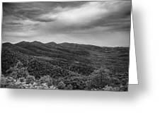 Rolling Hills Of North Carolina Greeting Card