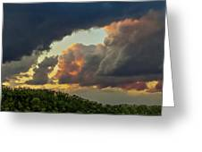 Storm Clouds Rolling In Greeting Card