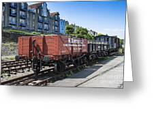Rolling Stock Greeting Card