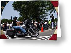 Rolling Thunder Salute Greeting Card