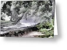 Rolling Waters Greeting Card