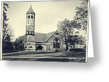 Rollins Chapel Dartmouth College Hanover New Hampshire Greeting Card