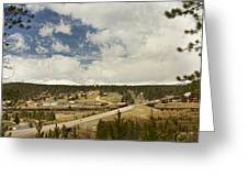 Rollinsville Colorado Greeting Card