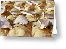 Rolls-painting Greeting Card