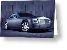 Rolls Royce 3 Greeting Card