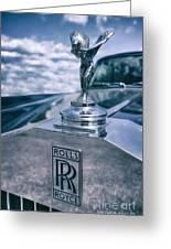 Rolls Royce Mascot Greeting Card