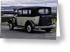 Rolls Royce - Regent Greeting Card