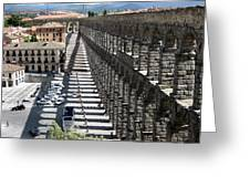 Roman Aqueduct II Greeting Card