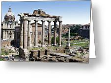 Roman Forum Greeting Card