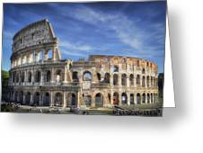 Roman Icon Greeting Card
