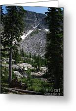 Roman Nose Trails Greeting Card