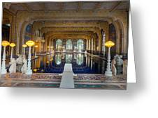 Roman Pool At Hearst Castle  Greeting Card