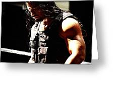Roman Reigns Greeting Card