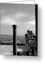 Roman Ruin Eleven Greeting Card