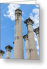 Roman Ruins Greeting Card