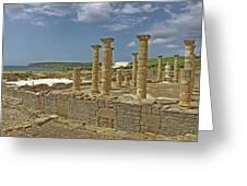 Roman Ruins Of Baelo Claudia Greeting Card
