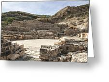 Roman Ruins Greeting Card