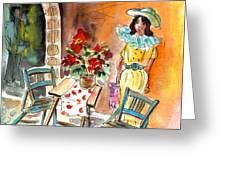 Romance In Siracusa Greeting Card