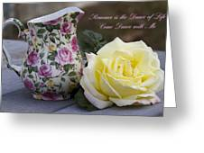 Romance Is The Dance Of Life Greeting Card