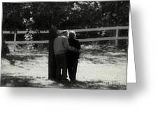 Romance Never Dies Greeting Card