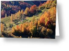 Romania, Transylvania, Carpathian Greeting Card