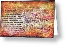 Romans 12 68 Greeting Card