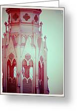 Romantic Cathedral Architectural Details Photograph Greeting Card