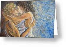 Romantic Cover Painting Greeting Card