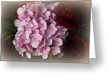 Romantic Floral Fantasy Bouquet Greeting Card