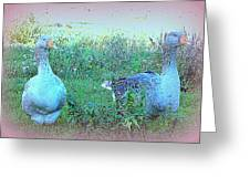 I Try To Be As Romantic As A Simple Goose But I Know Too Much  Greeting Card