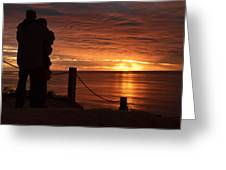 Romantic Setting Greeting Card
