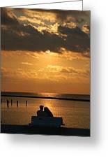 Romantic Sunrise Greeting Card