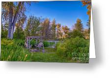 Romantic View By The Methow River Greeting Card