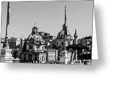 Rome - Cityscape Greeting Card