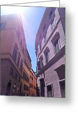 Rome At Mid Day Greeting Card