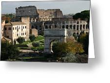 Rome Italy Greeting Card