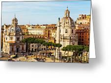 Rome, Italy. Rome, Italy. Piazza Della Greeting Card