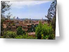Rome Rooftop Greeting Card